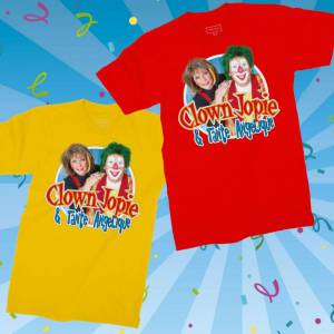 clown-jopie-en-tante-angelique-tshirt