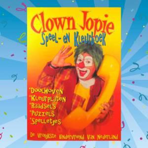 clown-jopie-speel-en-kleurboek