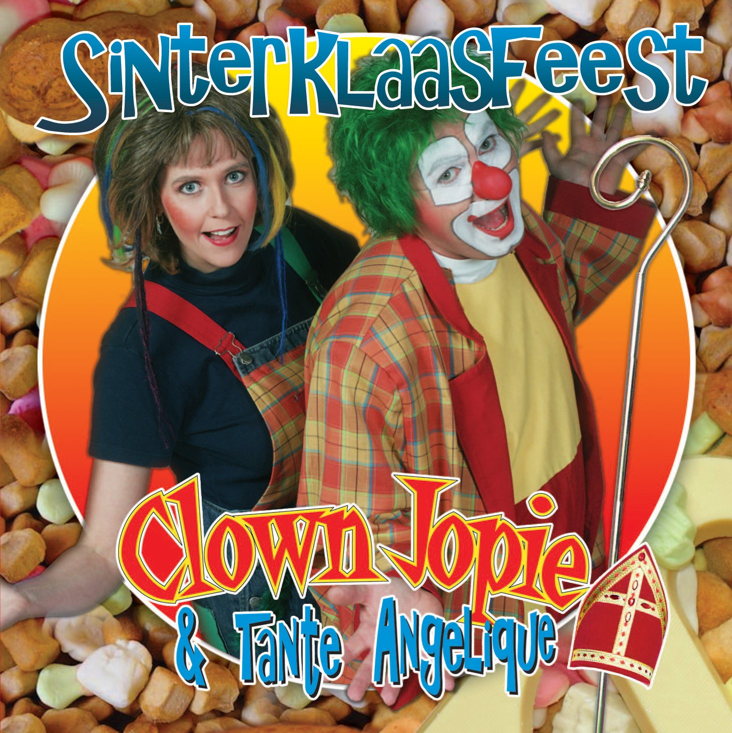 Sinterklaasfeest-clown-jopie-en-tante-angelique