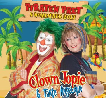 "CLOWN JOPIE & TANTE ANGELIQUE ""PIRATEN PRET"""