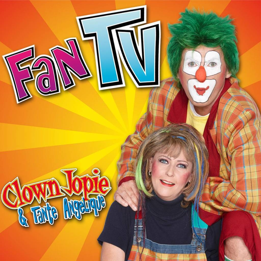 Clown Jopie & Tante Angelique komen met Fan TV